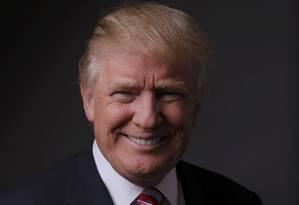 Donald Trump. Candidato republicano diz que se encontraria com o líder norte-coreano, Kim Jong-un Foto: LUCAS JACKSON / REUTERS