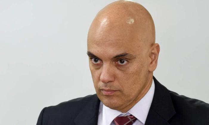 Novo Ministro da Justiça Alexandre de Moraes Foto: Evaristo SA / AFP
