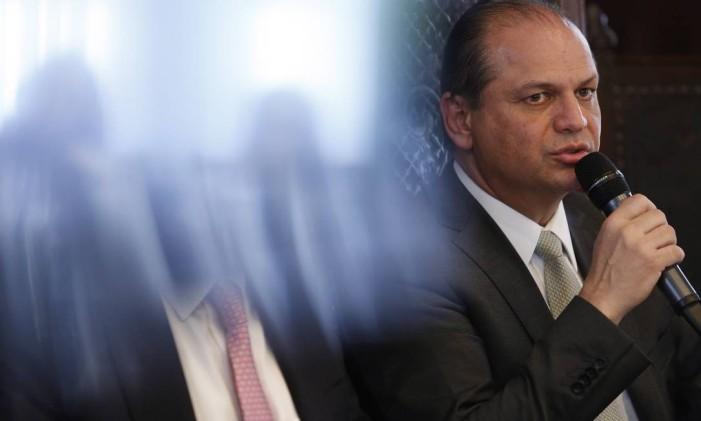 Novo ministro da Saúde, Ricardo Barros Foto: Edilson Dantas / Agência O Globo