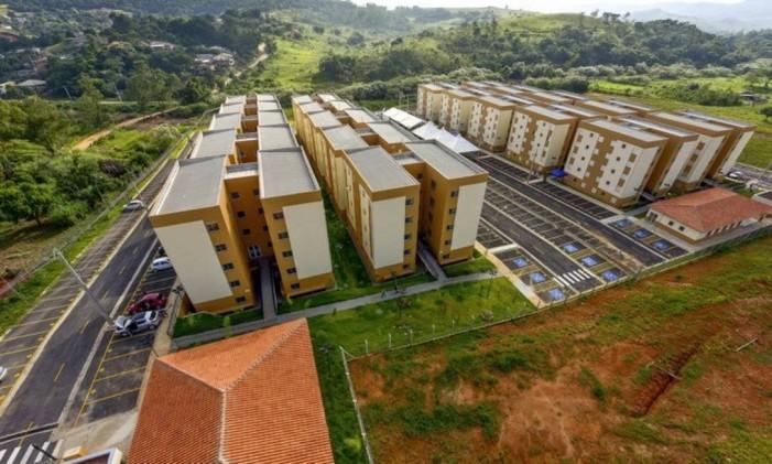 Unidades habitacionais do Minha Casa Minha Vida em São José dos Campos, São Paulo Foto: Lucas Lacaz Ruiz / Agência O Globo