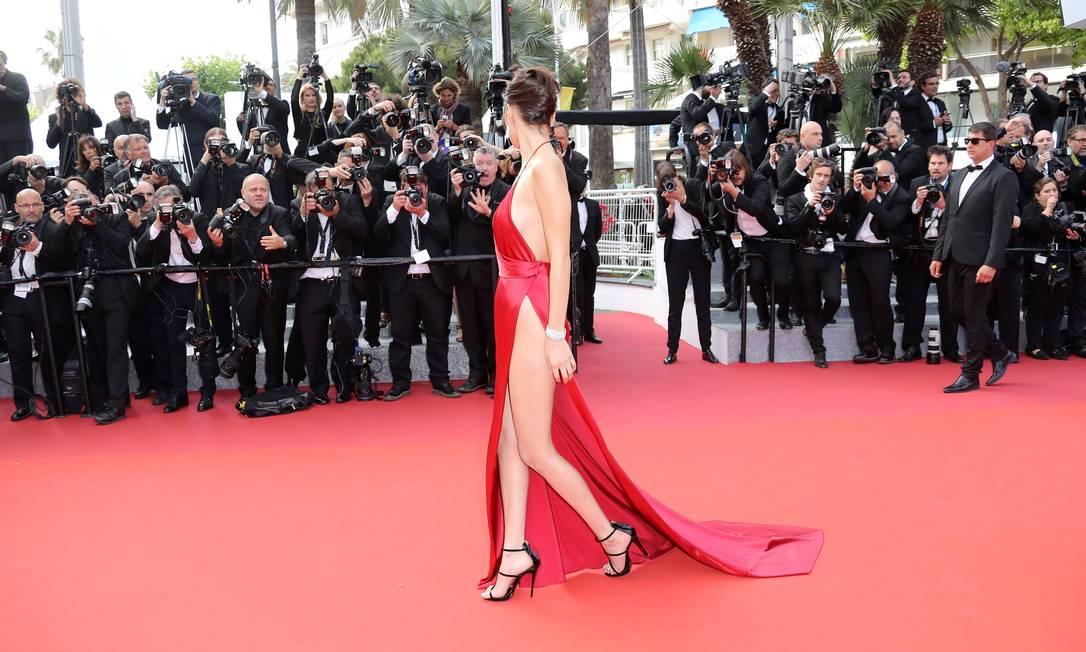 Mais de Bella Hadid VALERY HACHE / AFP