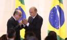 José Serra toma posse como novo ministro de Relações Exteriores Foto: André Coelho / Agência O Globo