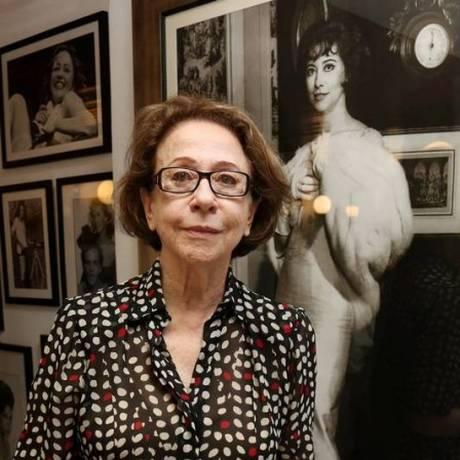 Fernanda Montenegro faz críticas ao fim do Ministério da Cultura Foto: Marcos Ramos / O Globo