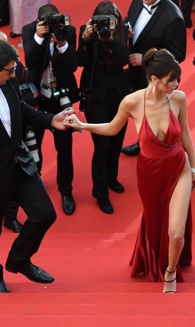 Bella em Cannes ANTONIN THUILLIER / AFP