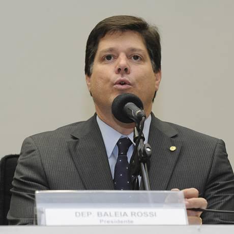 O deputado Baleia Rossi (PMDB-SP) Foto: Luis Macedo / Câmara dos Deputados