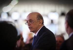 O ministro das Relações Exteriores, José Serra Foto: ANDRE COELHOAndré Coelho / Agência O Globo 18/05/2016