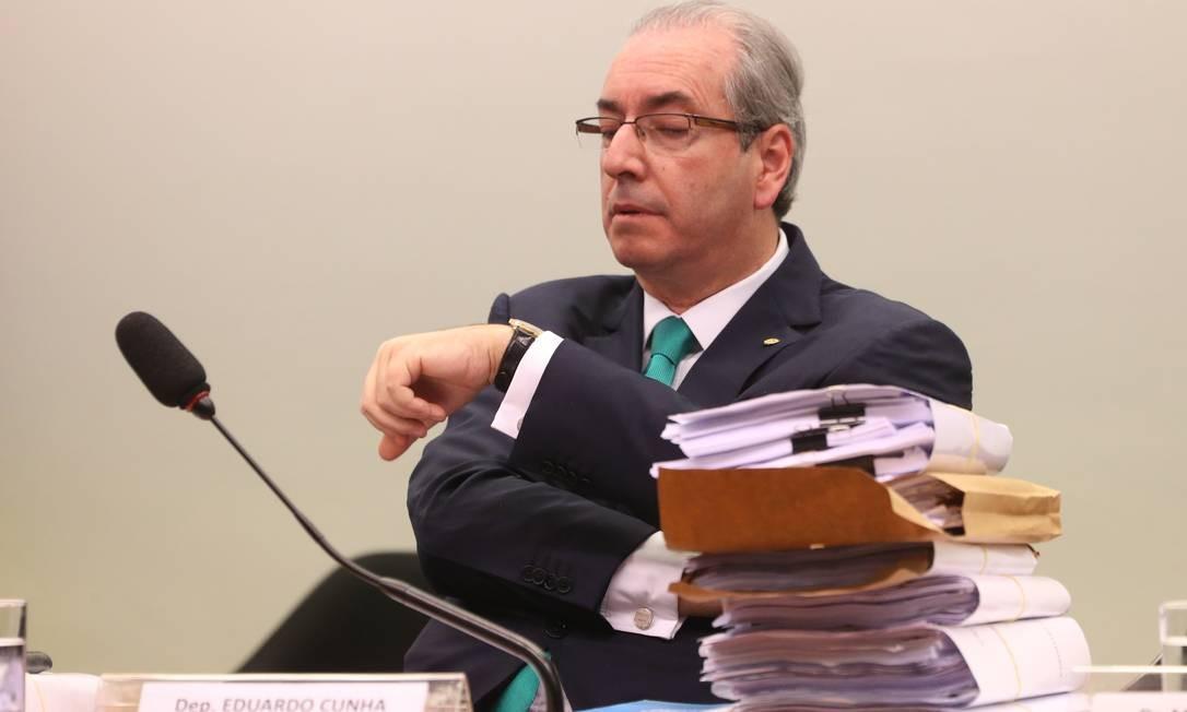 f6135a3475b Defesa de Eduardo Cunha no conselho de ética da Câmara Foto  Andre Coelho    Andre