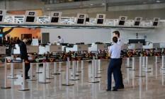 Píer Sul, o novo espaço do aeroporto Antonio Carlos Jobim Foto: Pablo Jacob / Agência O Globo