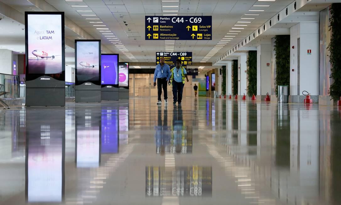 Air France, British Airways, Iberia e KLM também vão usar o novo Terminal 2. Todo o processo será concluído antes dos Jogos Olímpicos, em agosto Pablo Jacob / Agência O Globo