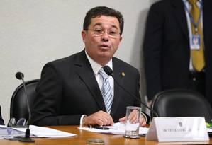 O ex-senador e atual ministro do Tribunal de Contas da União (TCU) Vital do Rego Foto: Ailton de Freitas / Agência O Globo / 2-12-2014
