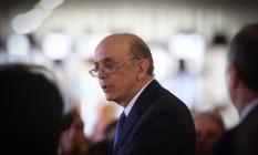 O ministro de Relações Exteriores, José Serra Foto: André Coelho / Agência O Globo / 18-5-2016