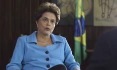 A presidente afastada Dilma Rousseff Foto: Reprodução