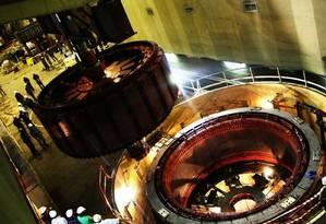 A hidrelétrica de Cambambe, em Angola, obra da empreiteira Odebrecht Foto: Reprodução/ Odebrecht
