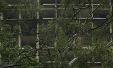 Abandonada há aproximadamente 30 anos, estrutura ganhará reforma: projeto prevê empreendimento sustentável com 195 quartos Foto: Daniel Marenco / Agência O Globo