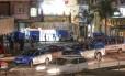 Policiamento reforçado na sexta-feira durante operação na Rocinha