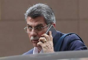 Romero Jucá, ministro do Planejamento Foto: Marcos Alves / Agência O Globo