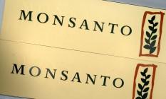 Logomarca da Monsanto Foto: FRANZ-PETER TSCHAUNER / AFP