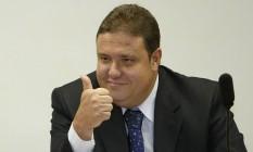 João Cláudio Carvalho Genu, durante depoimento no Conselho de Ética da Câmara Foto: Ailton de Freitas / Agência O Globo