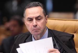Ministro do STF Luiz Roberto Barroso 04/09/2013 Foto: André Coelho / Agência O Globo