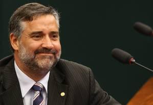 O vice-líder do PT Paulo Pimenta (RS) Foto: Ailton de Freitas / Agência O Globo