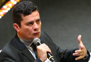 """Juiz Sérgio Moro fala sobre a Lava-Jato em fórum organizado pela revista """"Veja"""" Foto: Pedro Kirilos"""