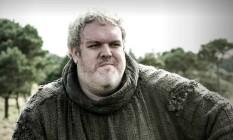 O personagem Hodor, em 'Game of thrones' Foto: Divulgação
