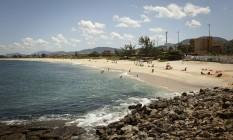 A Praia de Barra de Maricá deve receber um recife artificial Foto: Fernando Lemos 21-03-2016 / Agência O Globo