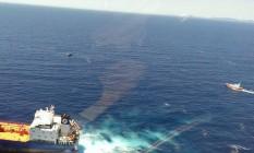 Itália faz operação de resgate na costa sarda Foto: Reprodução