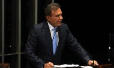 O senador Alvaro Dias (PV-PR) Foto: Givaldo Barbosa / Agência O Globo / 10-8-2015