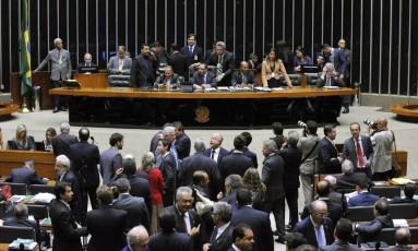 O plenário da Câmara dos Deputados Foto: Luis Macedo/Divulgação/17-5-2016
