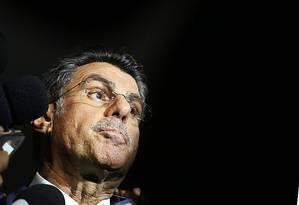 O ex-ministro do Planejamento, Romero Jucá (PMDB-RR) Foto: Jorge William / Agência O Globo / 23-5-2016