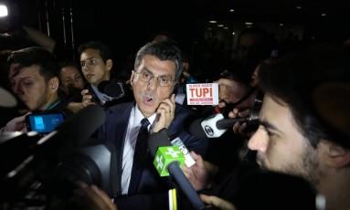 O ex-ministro do Planejamento, Romero Jucá Foto: Jorge William / Agência O Globo