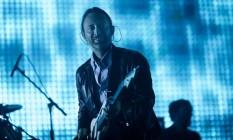 Thom Yorke em show do Radiohead, em 2012 Foto: CHAD BATKA / NYT