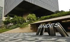Fachada do Prédio do BNDES, no Centro do Rio Foto: Guilherme leporace / Agência O Globo