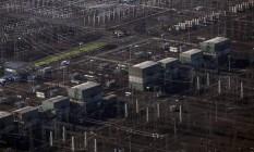 A subestação de Furnas Foto: Dado Galdieri / Bloomberg