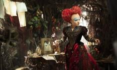 Helena Bonham Carter em 'Alice através do espelho' Foto: Peter Mountain / AP