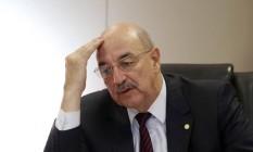 O ministro do Desenvolvimento Social e Agrário, Osmar Terra Foto: Michel Filho / Agência O Globo / 16-5-2016