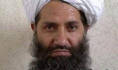 O mulá Haibatullah Akhunzada foi nomeado novo chefe do Talibã afegão Foto: Reprodução