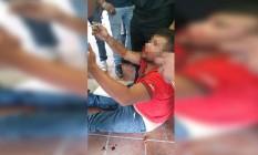 Linchamento de supostos sequestradores acaba em duas mortes no México Foto: Reprodução
