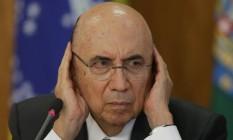 Henrique Meirelles, ministro da Fazenda Foto: Eraldo Peres / AP