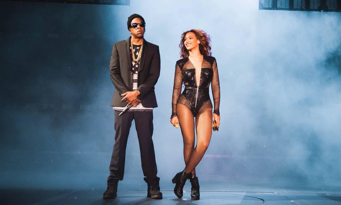 Jay Z e Beyoncé, um dos casais mais poderosos do showbiz Foto: Divulgação