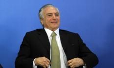 Michel Temer, presidente interino Foto: Givaldo Barbosa / Agência O Globo
