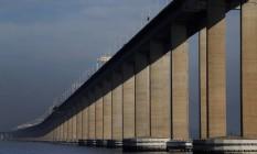 Ponte Rio-Niterói recebe conjunto de melhorias Foto: Gabriel de Paiva