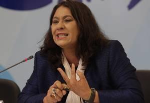 Tereza Cruvinel, ex-presidente da EBC: foi preciso investir em equipamentos Foto: André Coelho/Agencia O Globo/31-10-2011