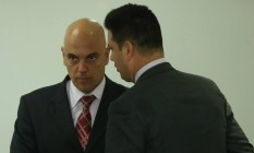 O ministro da Justiça Alexandre de Moraes: apoio à Lava-Jato Foto: André Coelho / Agência O Globo / 16-5-2016