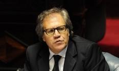Luis Almagro debate sobre crise na Venezuela Foto: María Inés Hiriart/GDA