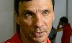 Zé Ricardo, técnico do sub-20, vai comandar interinamente o Flamengo até a contratação do treinador que substituirá Muricy Ramalho Foto: Globoesporte.com