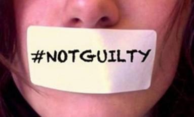 """""""Não sou culpada"""": para especialistas, cultura machista culpa as vítimas Foto: Reprodução"""