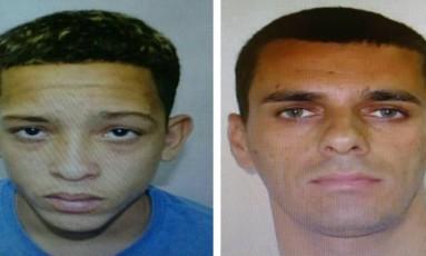 Lucas Perdomo Duarte Santos, de 20 anos, e Raphael Assis Duarte Belo, de 41 Foto: Divulgação