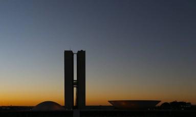 Esplanada dos Ministérios em Brasília Foto: André Coelho / Agência O Globo